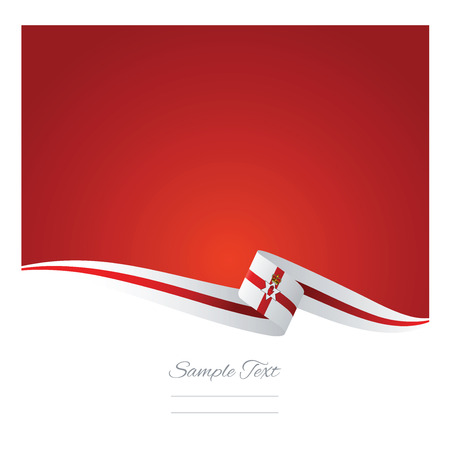 northern: Abstract color background Northern Ireland flag vector