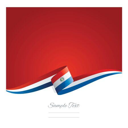 bandera de paraguay: Cinta del indicador Paraguay resumen nueva
