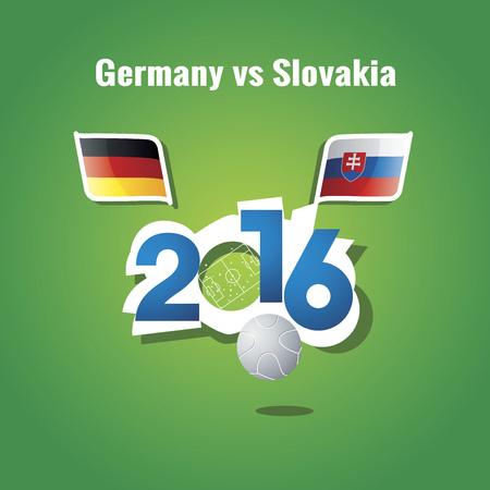 lille: Euro 2016 Germany vs Slovakia background