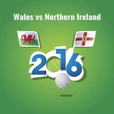 northern ireland: Euro 2016 Wales vs Northern Ireland background