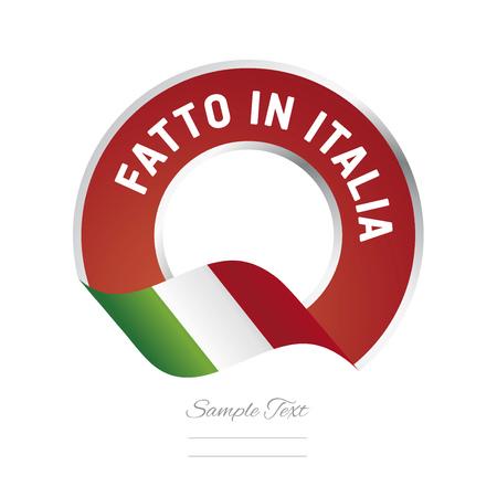 Made in Italy (Italian language - Fatto in Italia)