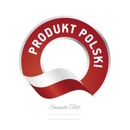 polish flag: Poland Product (Polish language - Produkt Polski)