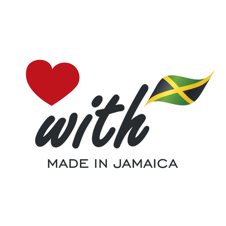 jamaican: Love With Made in Jamaica logo icon