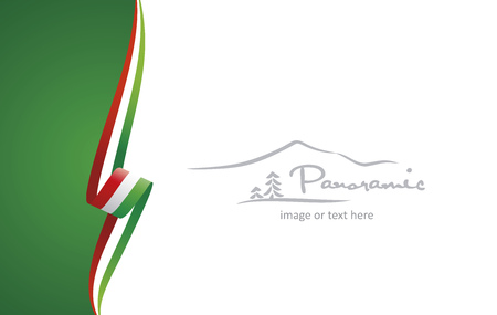 Hungary abstract brochure cover poster background vector