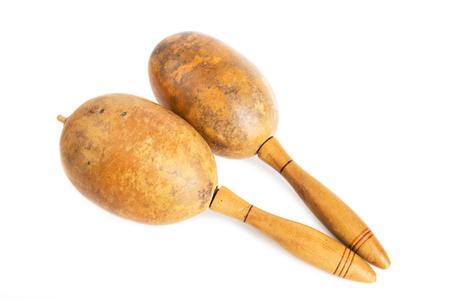 쿠바 마라카스, 라틴 음악의 리듬 그루브를위한 전통 악기.