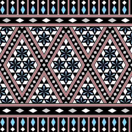 tribales: Modelo tribal incons�til. �tnico vectores de fondo. Estilo �rabe o africano