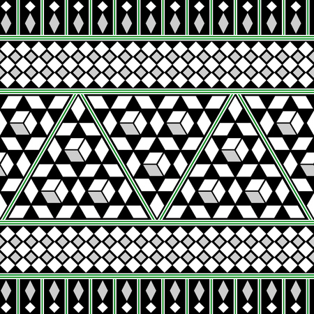 darbuka: Tribal Seamless Pattern. Ethnic Vector Background. Arabic or African Style