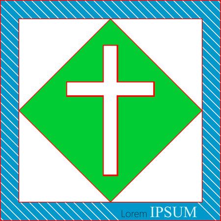 cristianismo: Iglesia de la Cruz S�mbolo del cristianismo