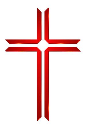 religious symbol:  Church Cross Symbol of Christianity Illustration