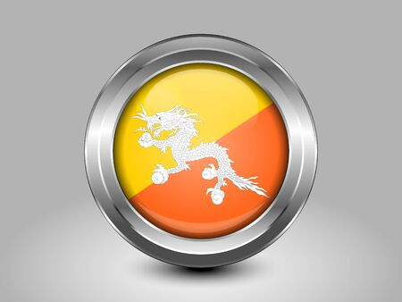 variant: Bhutan Variant First Flag Illustration