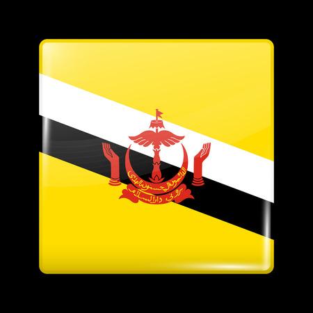 brunei: Flag of Brunei