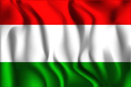 variant: Tajikistan Variant Flag. Rectangular Shape Icon with Wavy Effect