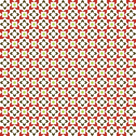 moroccan: Moroccan Pattern. Mosaic Tiles. Illustration