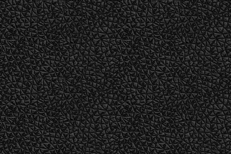 Seamless Realistic Leather Texture. Black Background