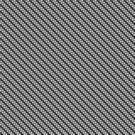 Textura inconsútil del vector de la fibra de carbono. Fondo gris