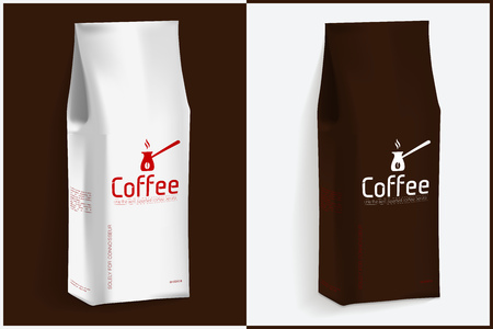 Pack of Coffee Vector Template for Your Design and Branding