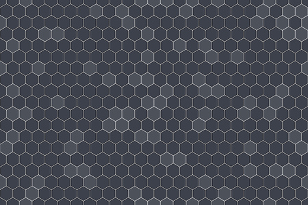 seamlessly: Honeycomb Seamless Pattern. Vector Illustration of Geometric Hexagons Background
