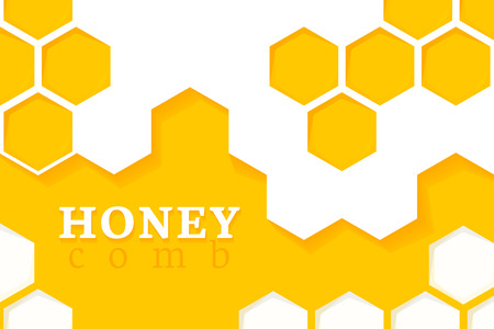 seamlessly: Honeycomb Background. Vector Illustration of Geometric Hexagons Background
