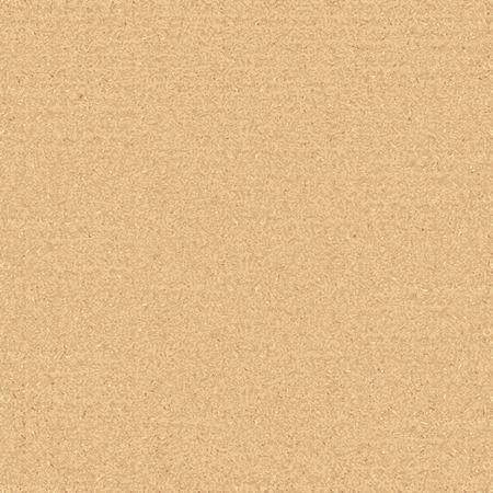 Kartonnen naadloze textuur. Vector van realistische kwaliteit