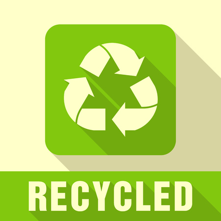 responsive: Recycled and Packaging Symbol. Sign for Delivery of Cargo