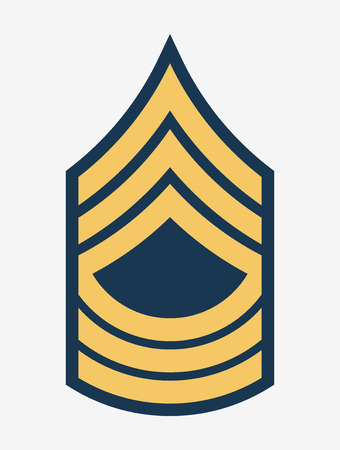 Military Ranks and Insignia. Illustration