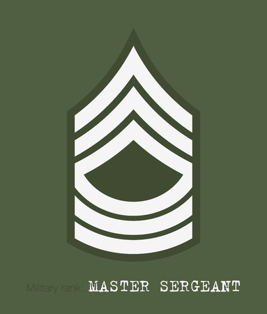 ストライプと軍の山形。