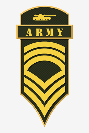 Stripes and Chevrons of Army.
