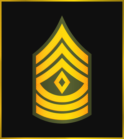 corps: Military Ranks and Insignia, Stripes and Chevrons of Army, First Sergeant