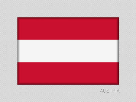 Flag of Austria illustration.