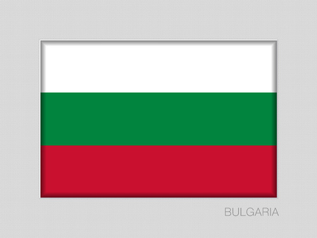 Flag of Bulgaria. National Ensign