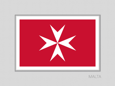 Flag of malta image illustration  イラスト・ベクター素材