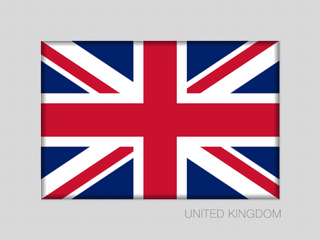 Flag of United Kingdom. Illustration