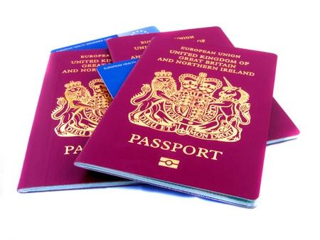 Three passports