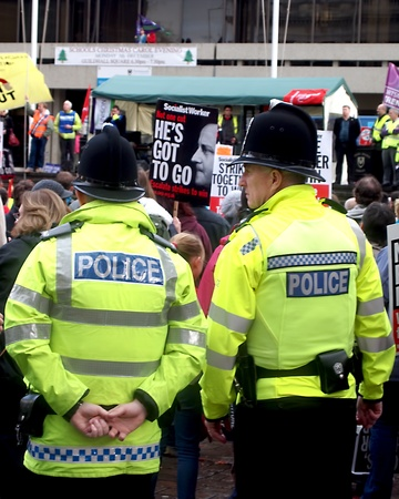 Portsmouth, UK, 30 November, 2011 - National day of action by public sector workers against pension changes