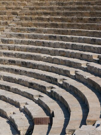 amphitheatre: Curium Amphitheatre Stock Photo