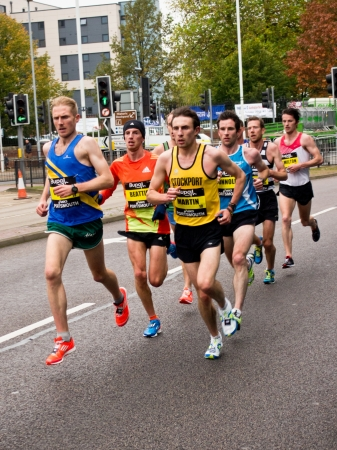 Elite runners take part in the Great South Run 2012. Portsmouth, Hampshire, England October 28th 2012