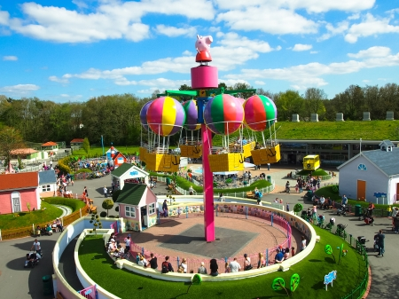 Peppa Pig world, Paultons themepark, England Editorial