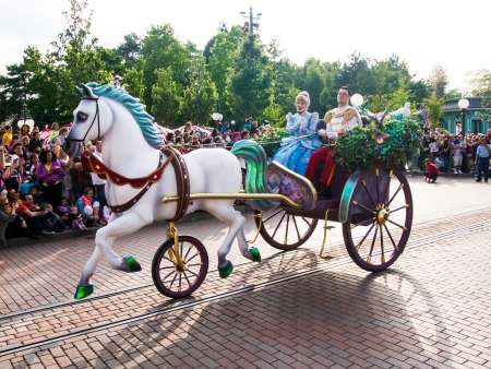 Sleeping beauty and prince philip at Disneyland Paris