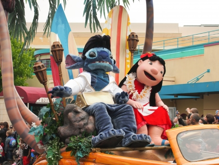 Lilo and Stitch at Disneyland Paris