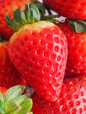 Close up of a strawberry Stock Photo