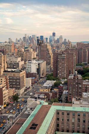 manhatan: Manhatan Skyline, New York City, USA