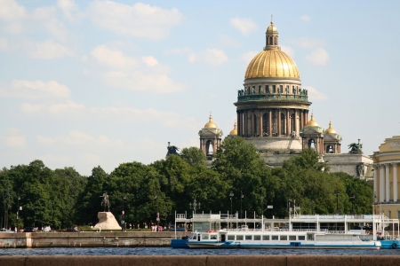 isaac s: St  Isaac s Cathedral and the Bronze Horseman