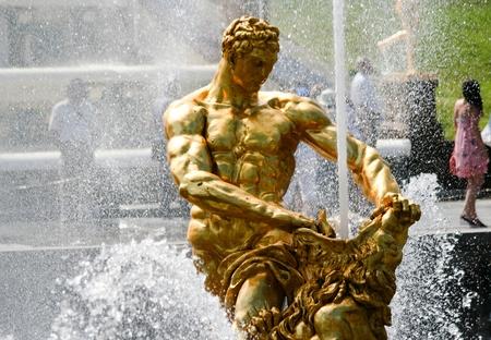 Fountains at the Petergof  Samson