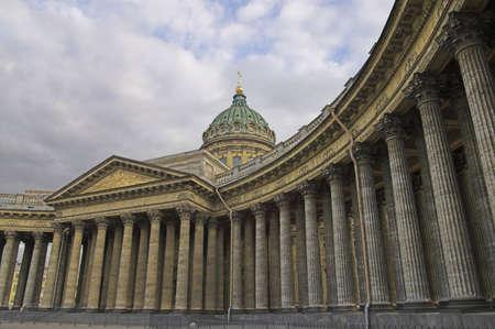 Kazansky Cathedral in Saint Petersburg, Russia. Stock Photo - 2818470