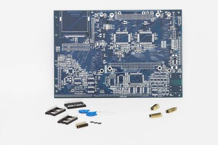 Integrated Circuit and Other Components - Isolated.