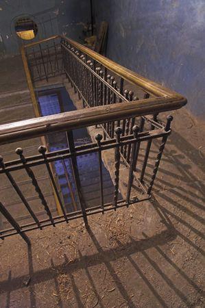 backstairs: Backstairs - 4 - un appartamento in costruzione. Archivio Fotografico