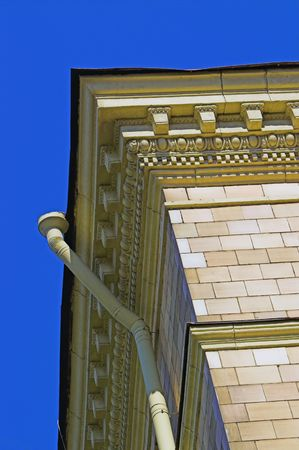 Old Building with Moulded Cornice photo