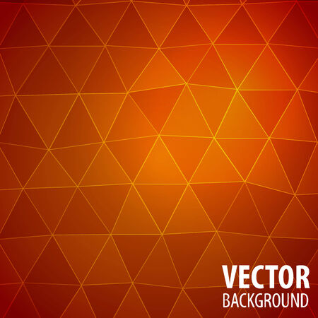 Abstract mosaic background with triangles. Vector Image Illustration
