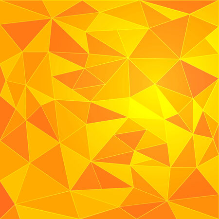 Abstract orange vector background with orange particles Illustration
