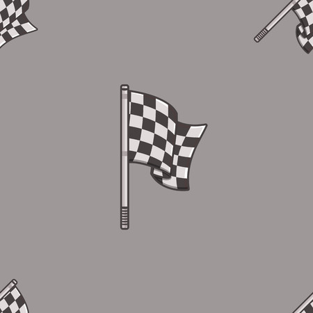 Vintage speed flag patern. Ideally for background for web sites printing and presentation.
